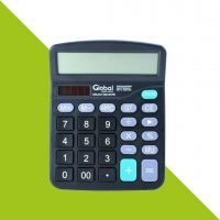 Calculadora electronica 12 digitos plastica