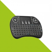 Mini teclado para Smart TV con touchpad